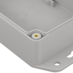 ZP120.80.45: Enclosures hermetically sealed polycarbonate