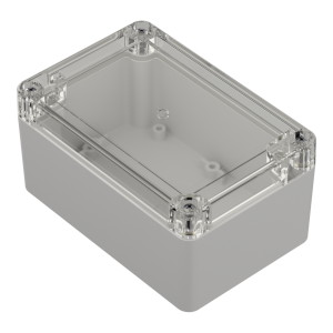 ZP120.80.60: Enclosures hermetically sealed polycarbonate