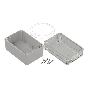 ZP120.80.75: Enclosures hermetically sealed polycarbonate