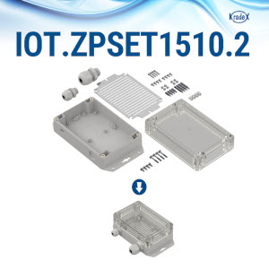 IOT.ZPSET1510: Enclosures in the set for iot