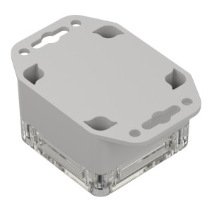 ZP60.60.40: Enclosures hermetically sealed polycarbonate