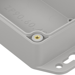 ZP90.60.40: Enclosures hermetically sealed polycarbonate