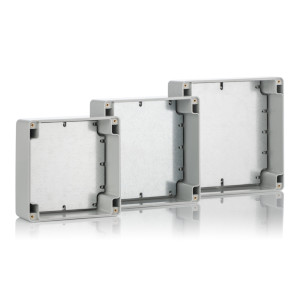 Z54S: Enclosures hermetically sealed with cast gasket